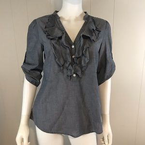 Ann Taylor Loft Women's Small Blouse